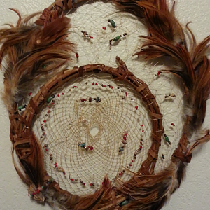Grapevine dreamcatcher